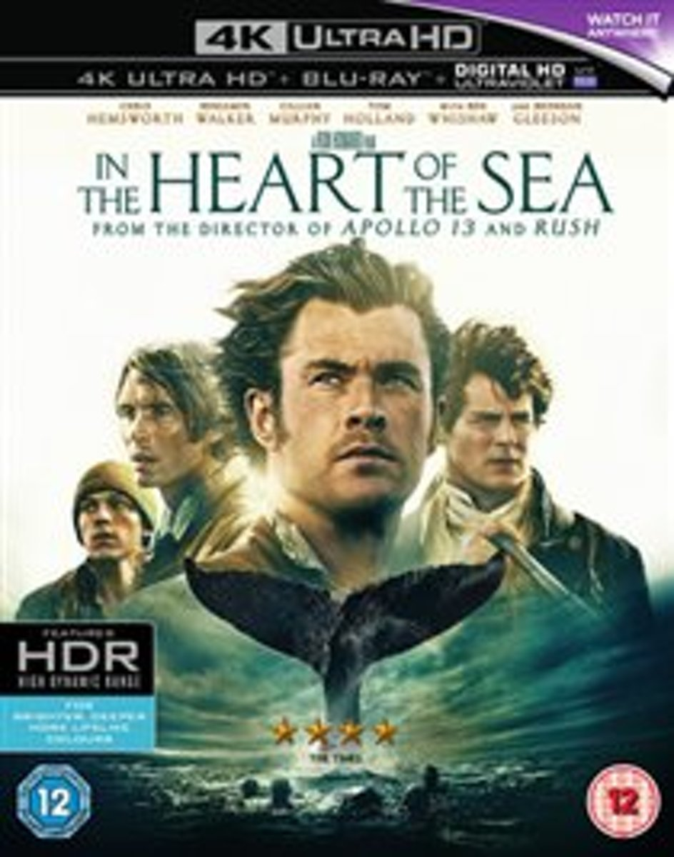 In The Heart Of The Sea (4K Ultra HD Blu-ray) (Import)-