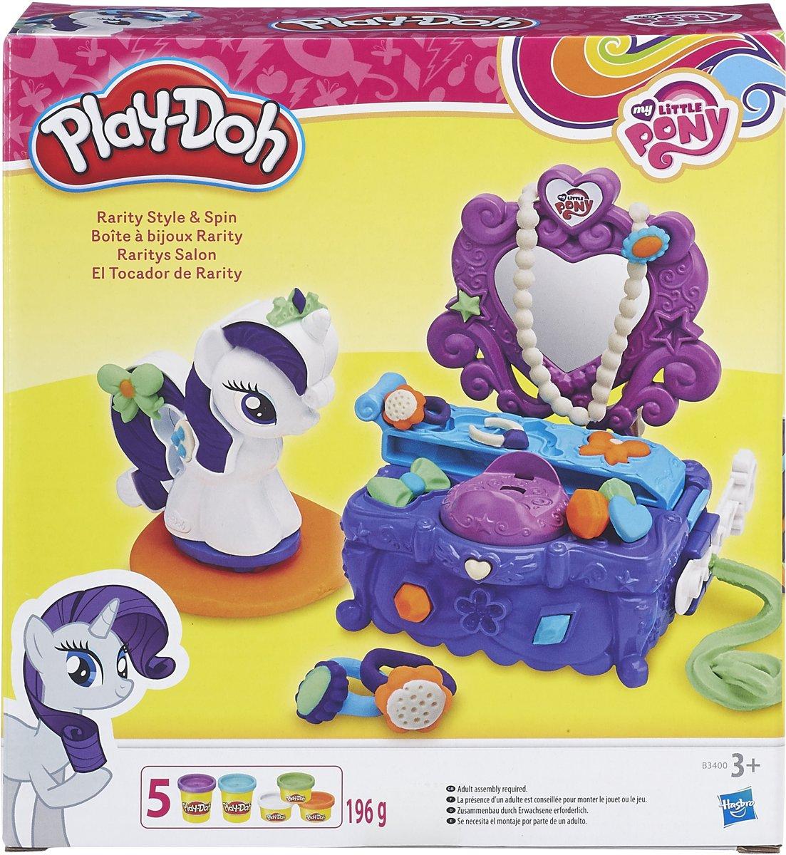 Play-Doh Raritys Kaptafel salon - My Little Pony - Klei