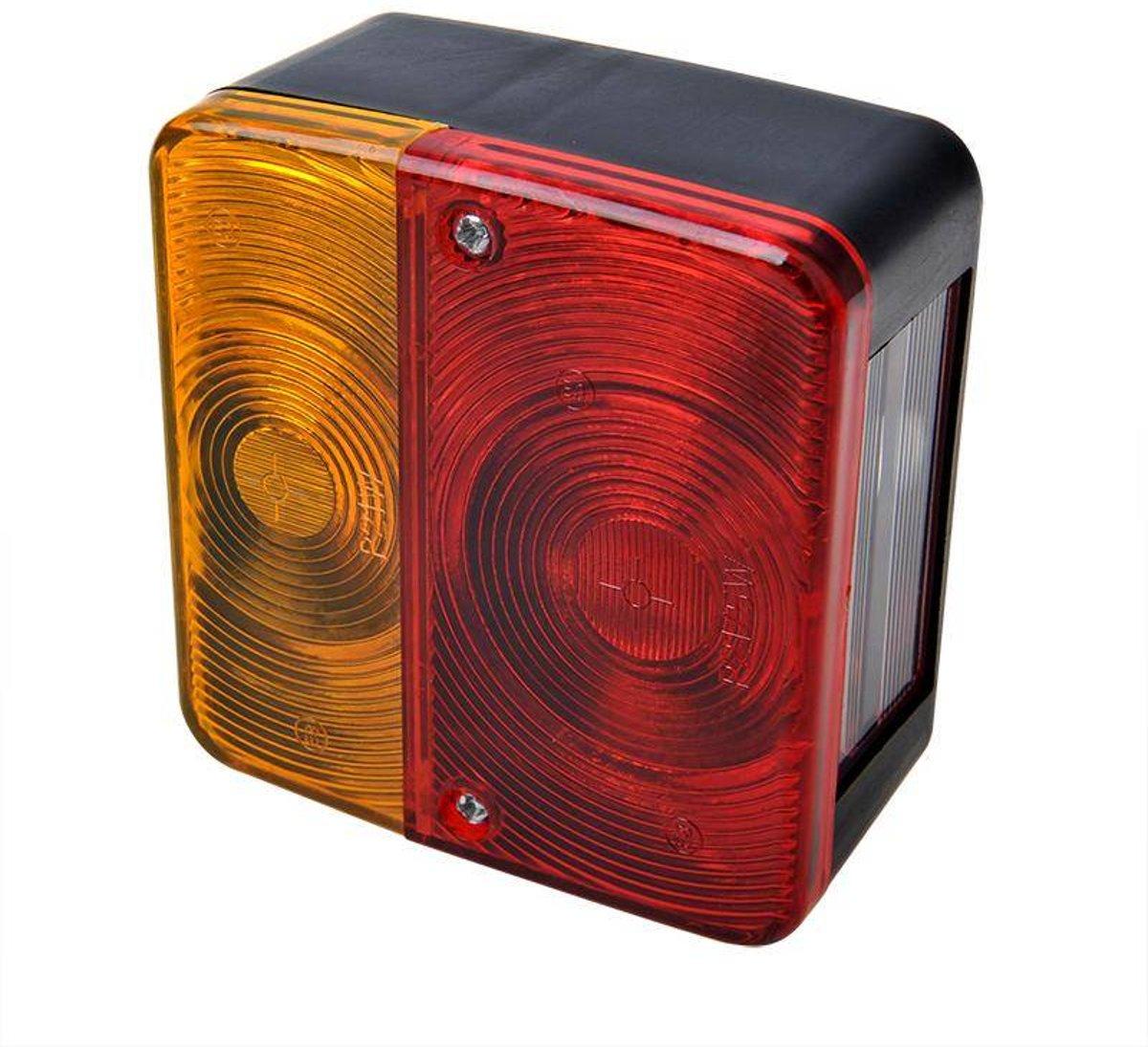 bol.com | 2 stuks (set) achterlicht vierkant 98mmx104mm voor ...