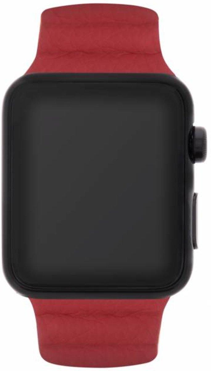 Rood Loop design watch band voor de Apple Watch 44 mm / 42 mm kopen