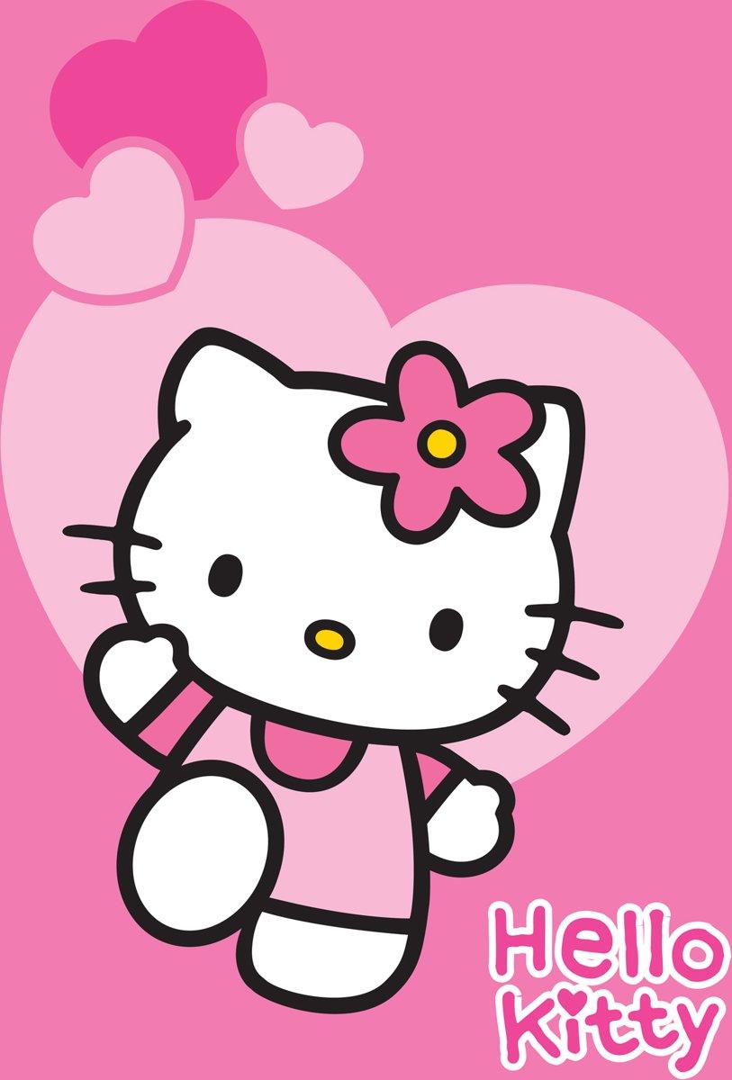 Hello Kitty Opbergrek.Bol Com Hello Kitty Tapijt 133x95 Hello Kitty Speelgoed
