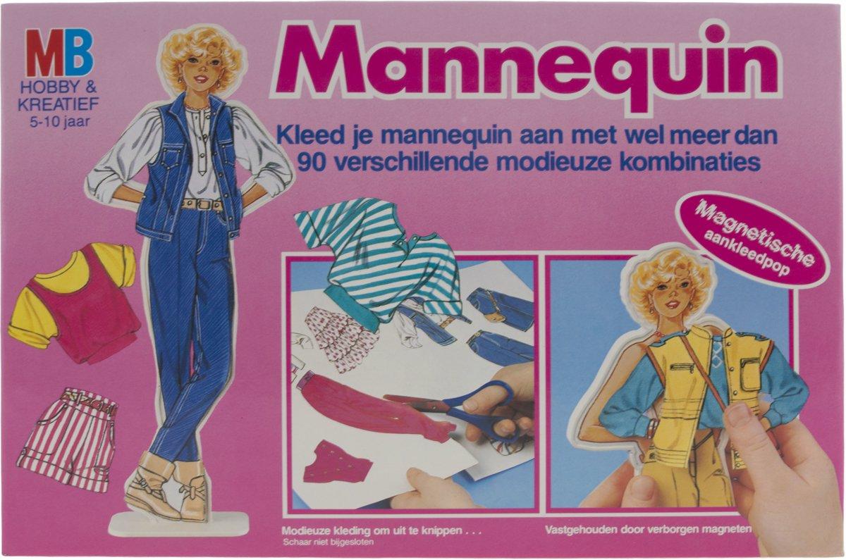 Mannequin kleden - knutselpakket MB