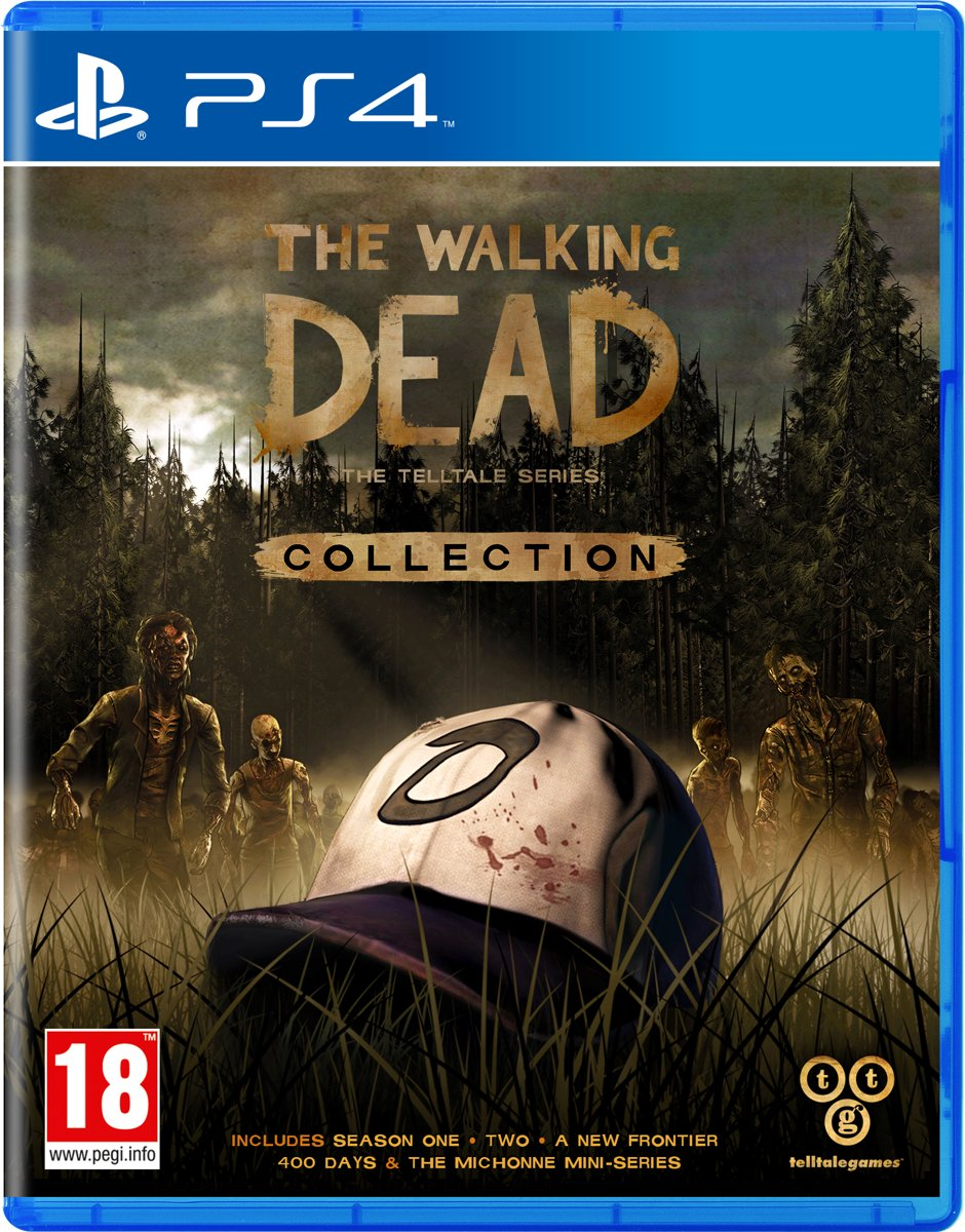 Walking Dead Collection: The Telltale Series PlayStation 4