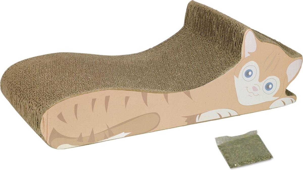 Nobby krabplank voor de kat  50x21x15cm karton
