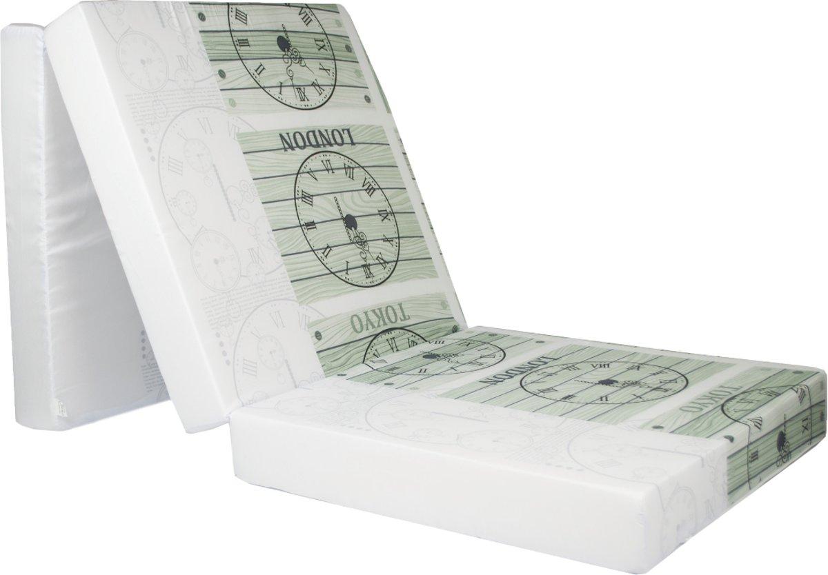 Design logeermatras - tijdzone - camping matras - reismatras - opvouwbaar matras - 195 x 65 x 10