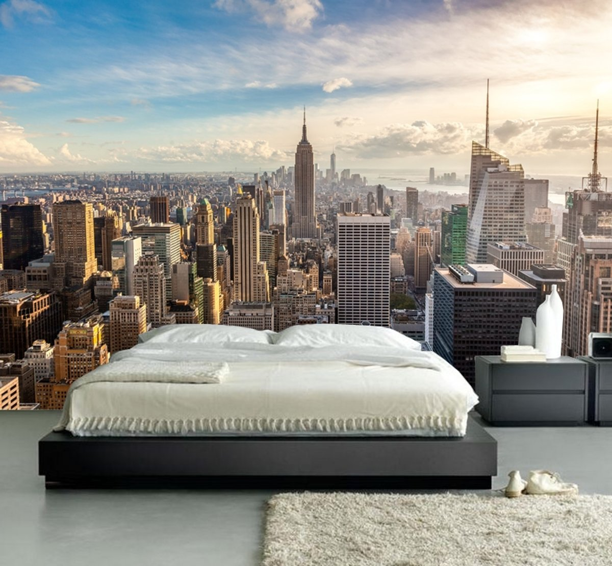 Muurposters New York.Bol Com Fotobehang Muurposter New York 350 X 260 Cm Art 97044