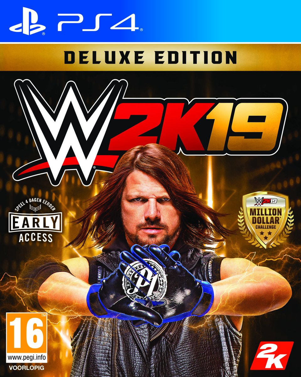 WWE 2K19 - Deluxe Edition PlayStation 4