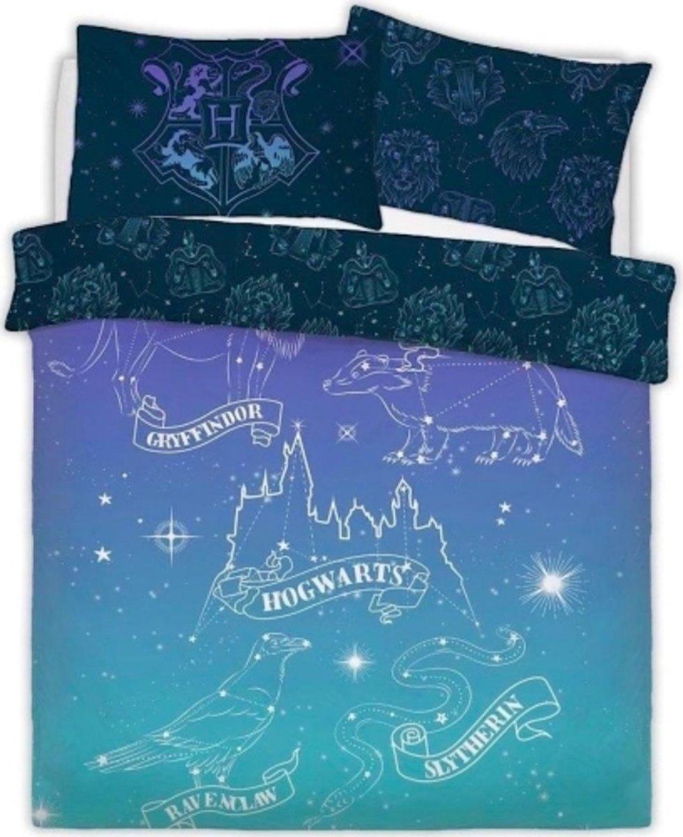 Harry Potter dekbedovertrek - Celestial Magic - tweepersoons met 2 kussenslopen kopen