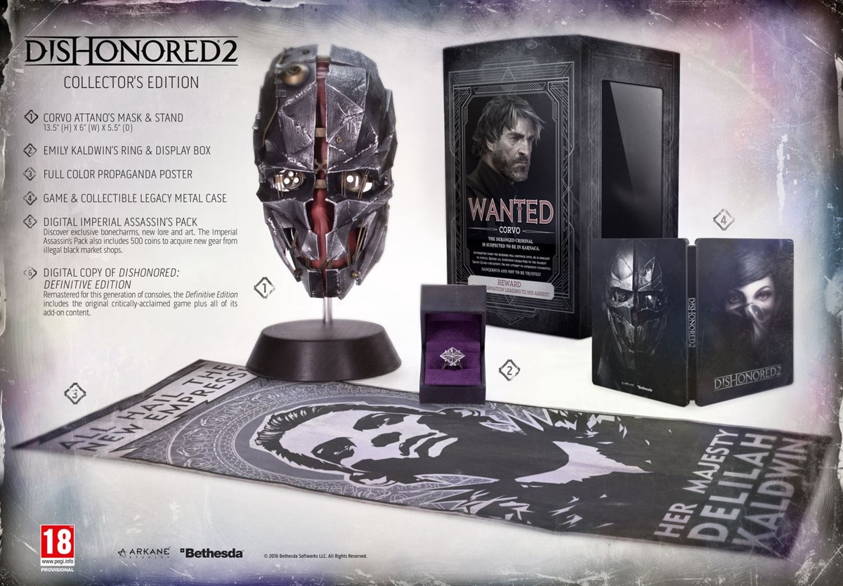 Dishonored 2 - Collector's Edition PlayStation 4
