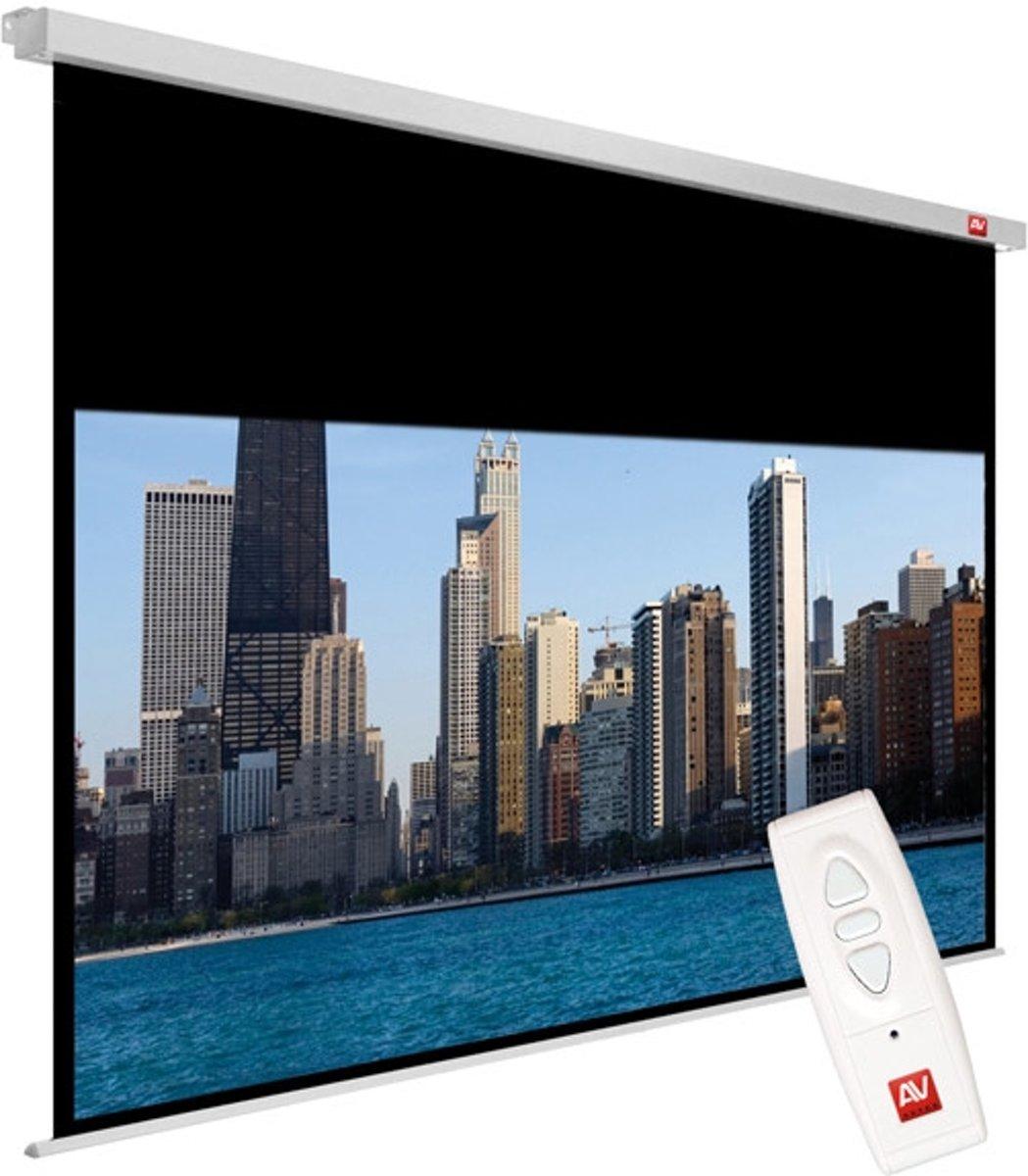 Avtek International Video Electric 240 4:3 Zwart, Wit projectiescherm kopen