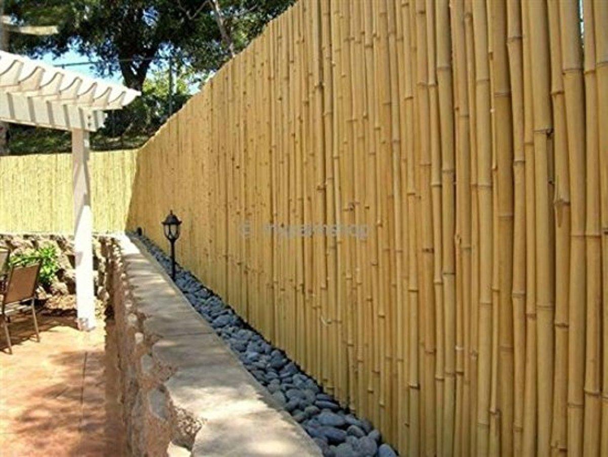 Bamboe op rol | 150cm x 180cm | Bamboe Rolscherm naturel | Zeer aantrekkelijk scherm voor de tuin, het balkon en het terras.