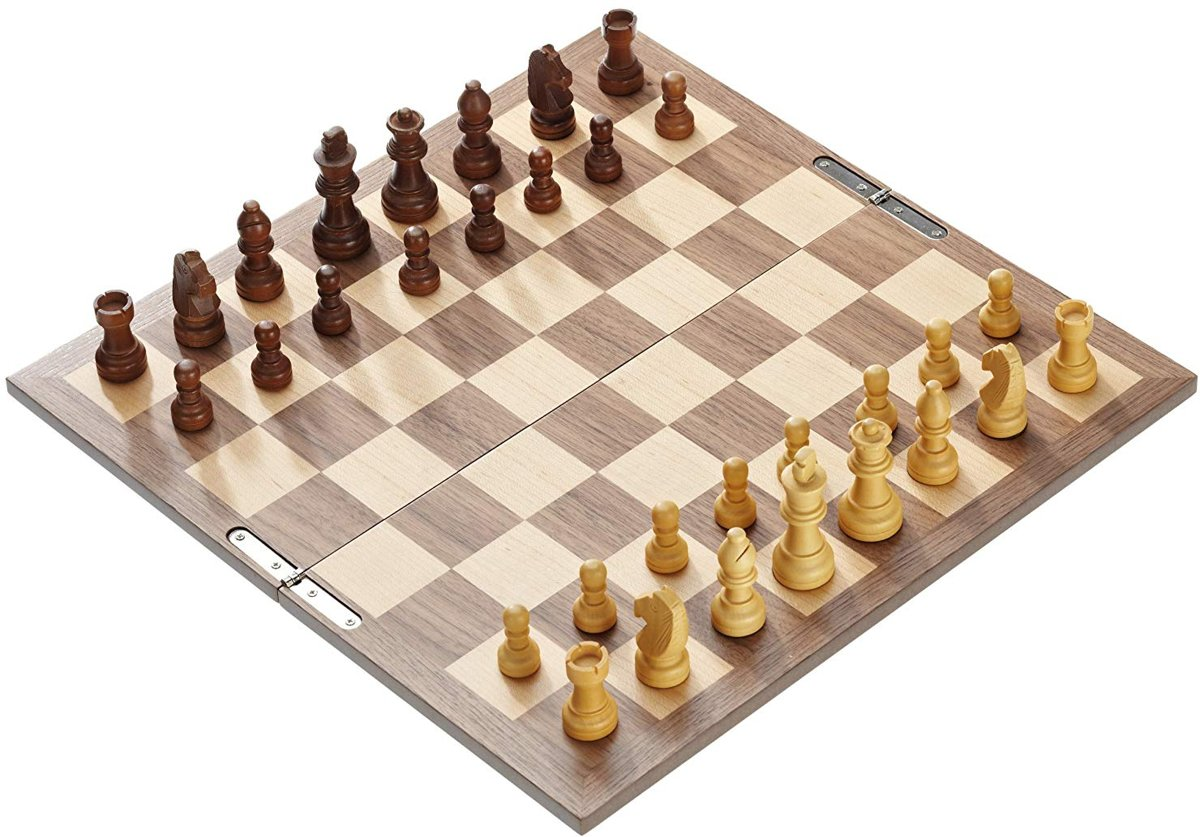 Philos opvouwbare schaakset , 40mm veld