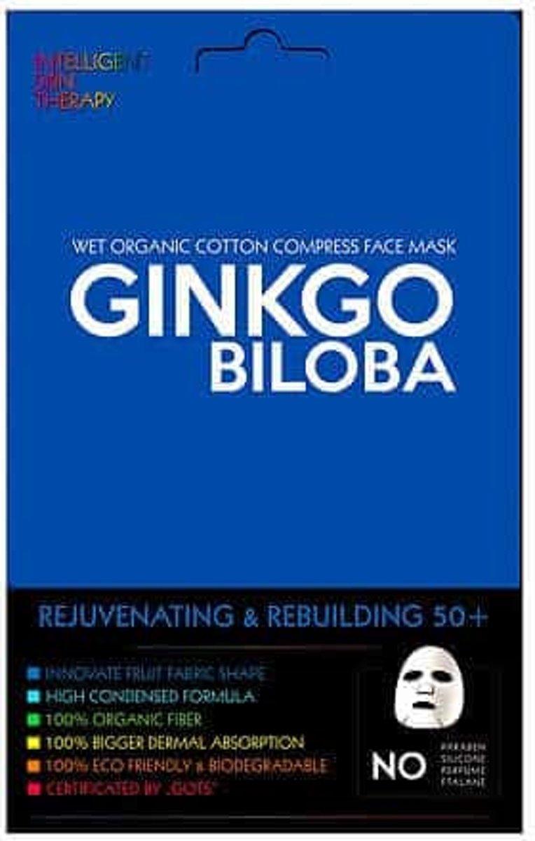 Foto van Intelligent Skin Face Mask Gingko Biloba