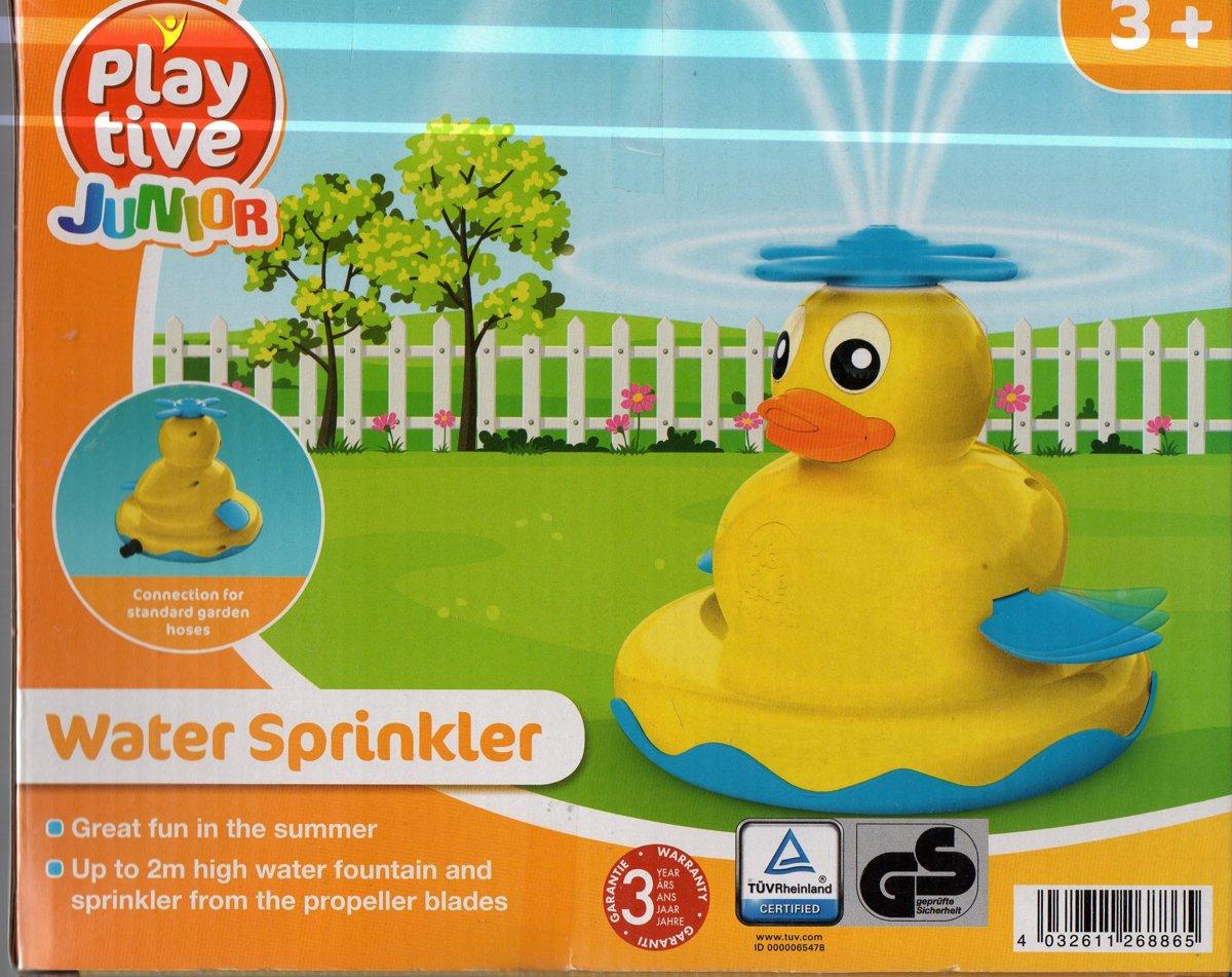 plezier in de zomer water sproeier voor 3 jr play tive junior