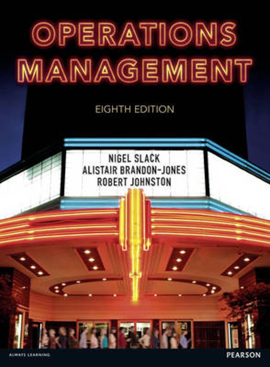 bol.com   Operations Management   9781292098678   Alistair Brandon-Jones    Boeken
