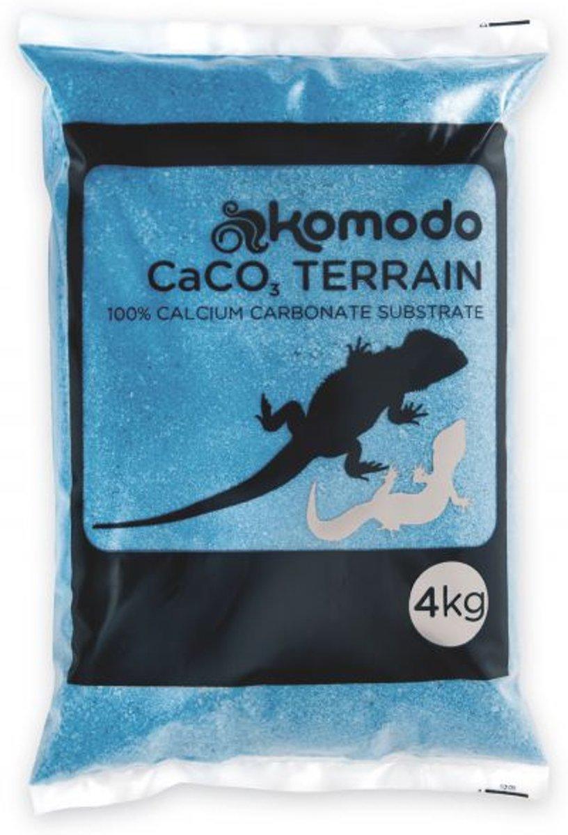 Komodo Caco Zand - Turquoise - 4 kg