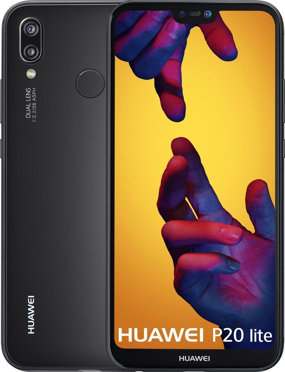 Huawei P20 Lite 14,8 cm (5.84'') 4 GB 64 GB 4G Zwart 3000 mAh kopen