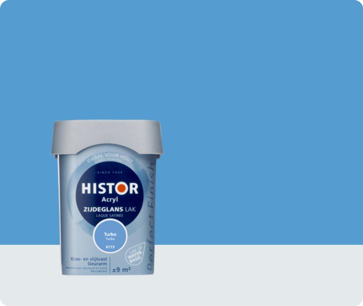 Histor Perfect Finish Lak Acryl Zijdeglans 0,75 liter - Turbo
