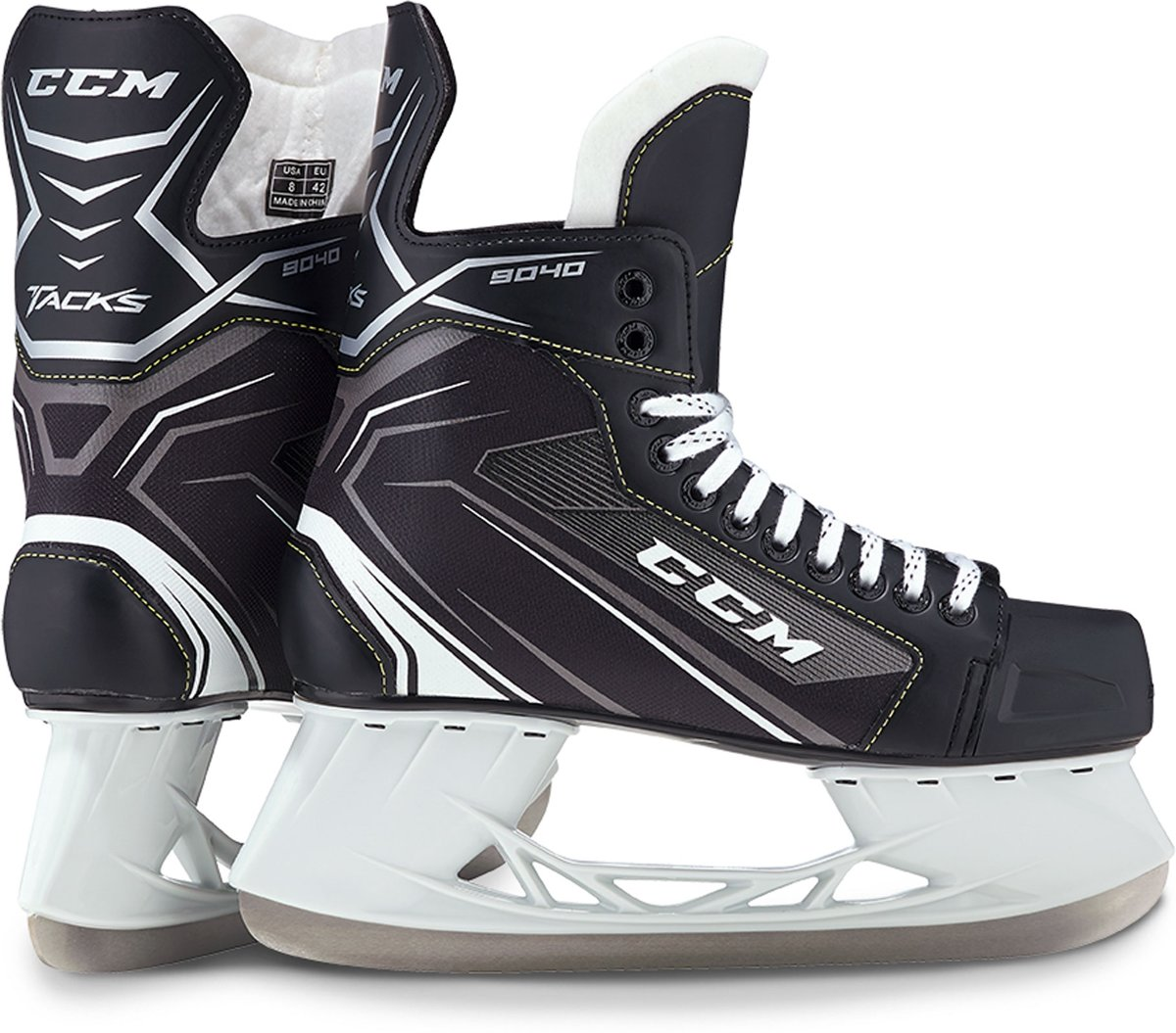 CCM IJshockeyschaatsen TACKS 9040 SR Zwart 46