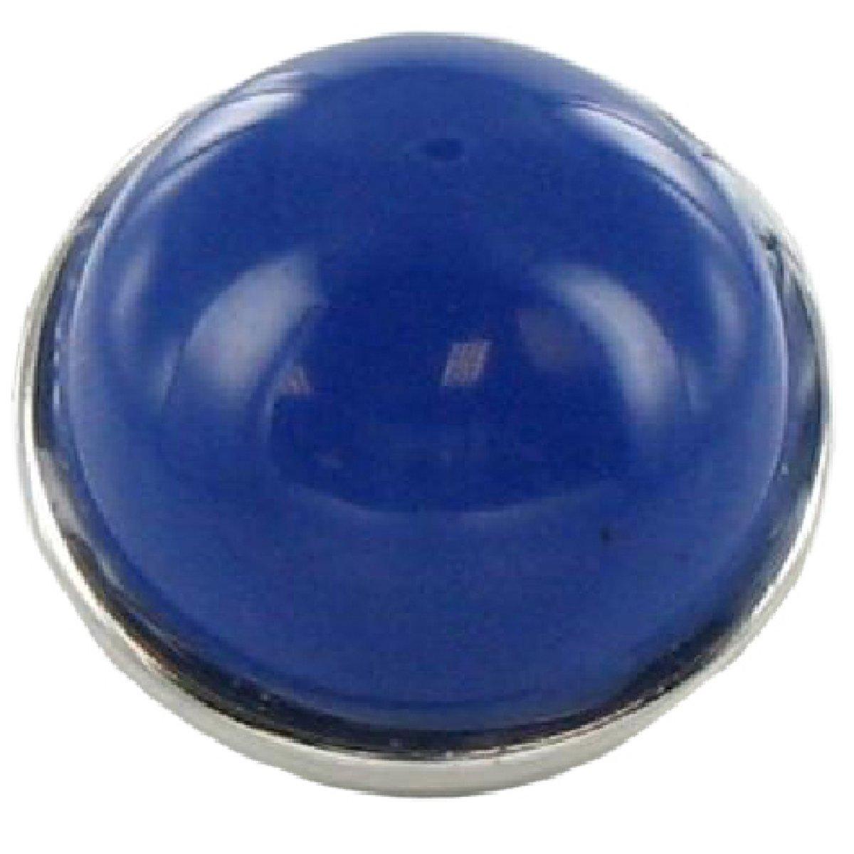 Quiges - Drukknoop 18mm Natuursteen Blauw - EBCM227 kopen