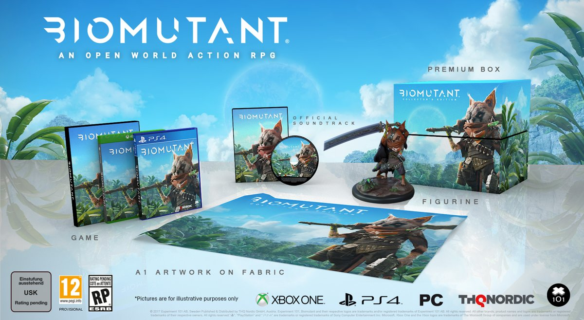 Biomutant Collector's Edition PlayStation 4