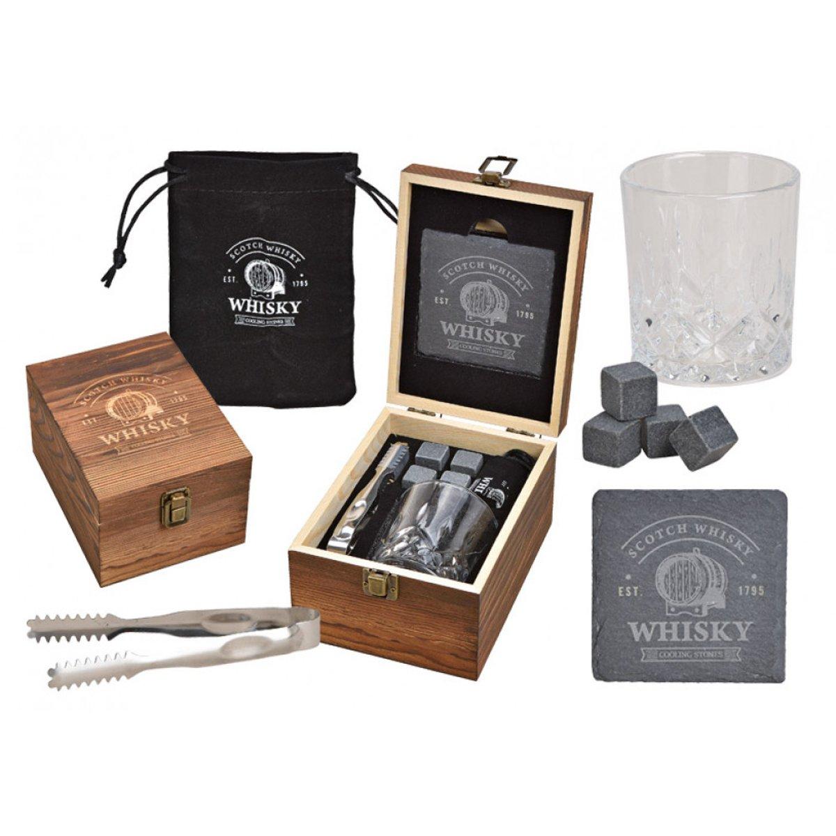 Whiskyset Deluxe – 6 delig – Met opbergdoosje kopen