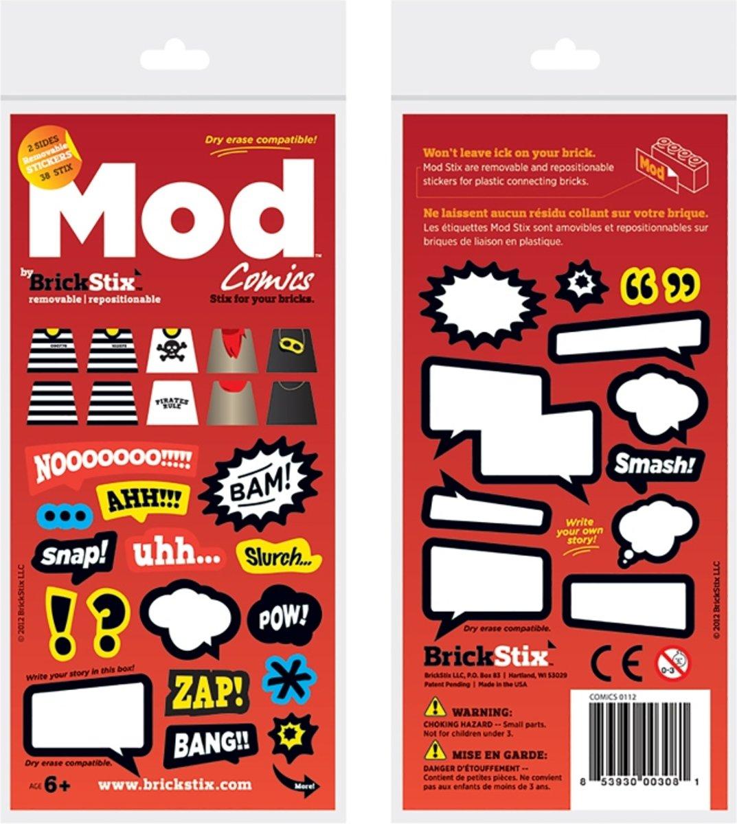 BrickStix 999151 Strips - herbruikbare stickers voor bouwstenen