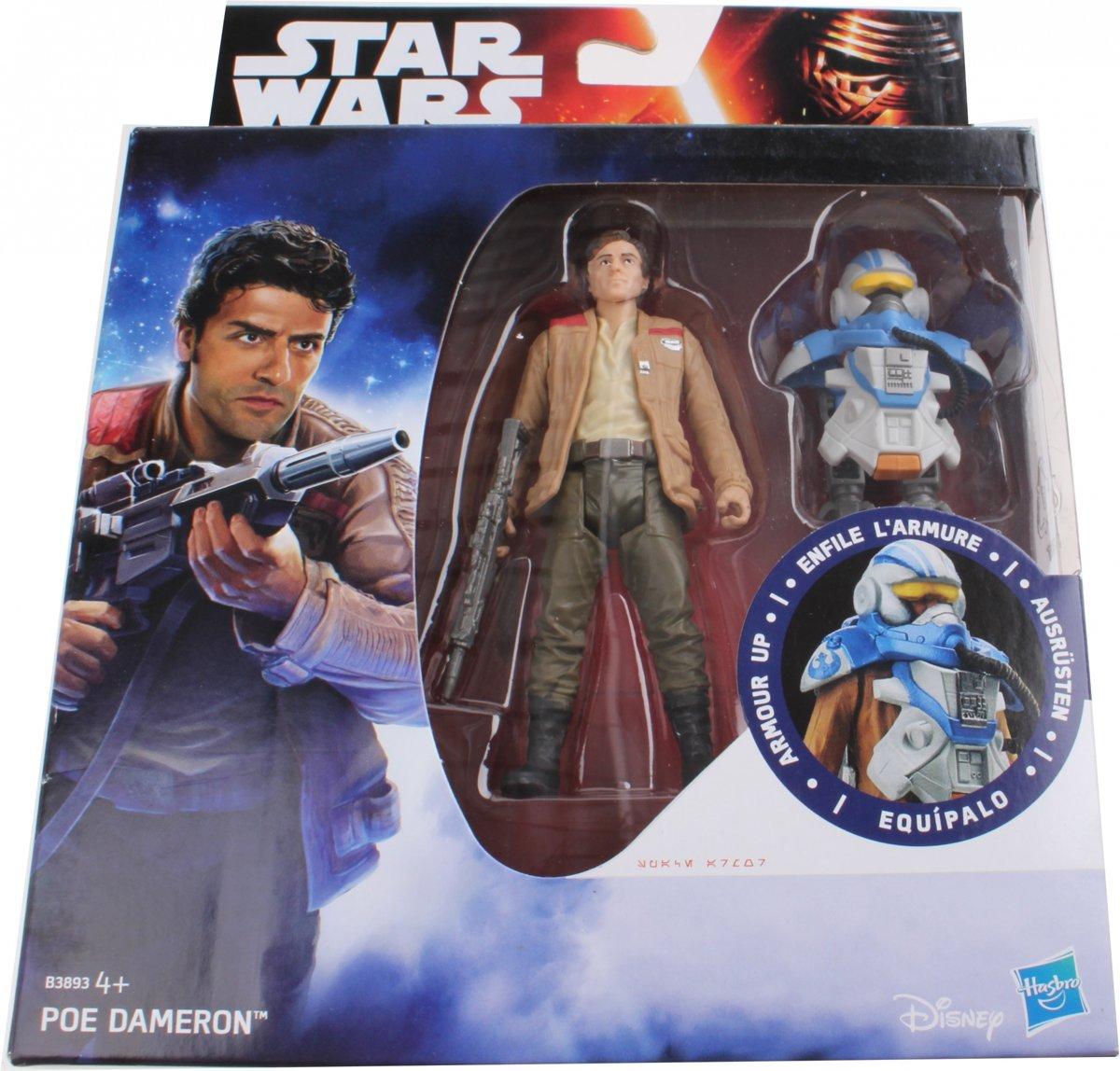 Action figure Star Wars Pack 10 cm Poe Dameron