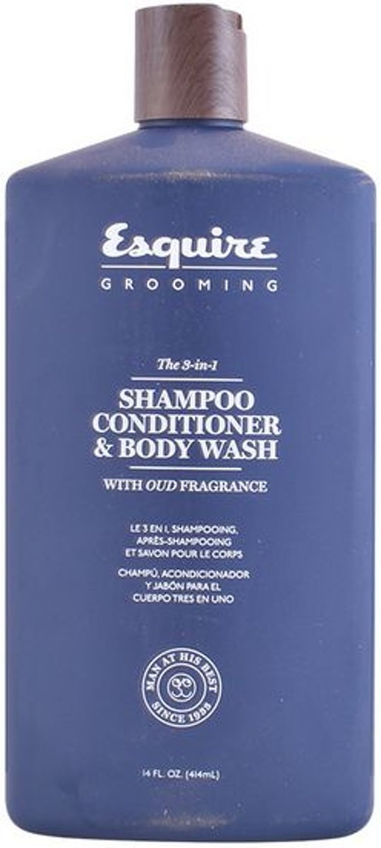 4fed93a289dc bol.com | Esquire Grooming 3-in-1 shampoo, conditioner, bodywash 414ml