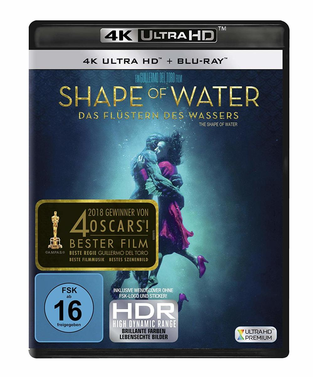 Shape of Water (Ultra HD Blu-ray & Blu-ray)-