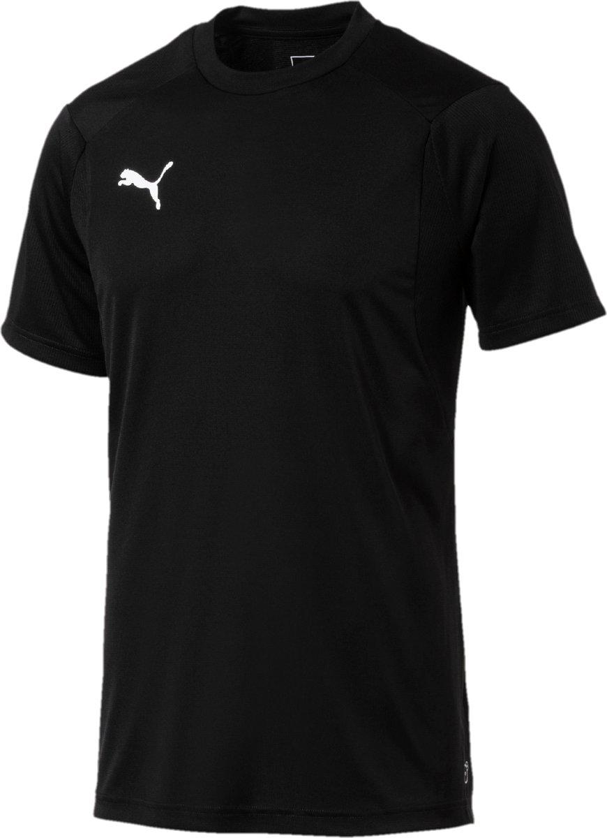PUMA Liga Trainingsshirt Heren - PUMA Black / PUMA White