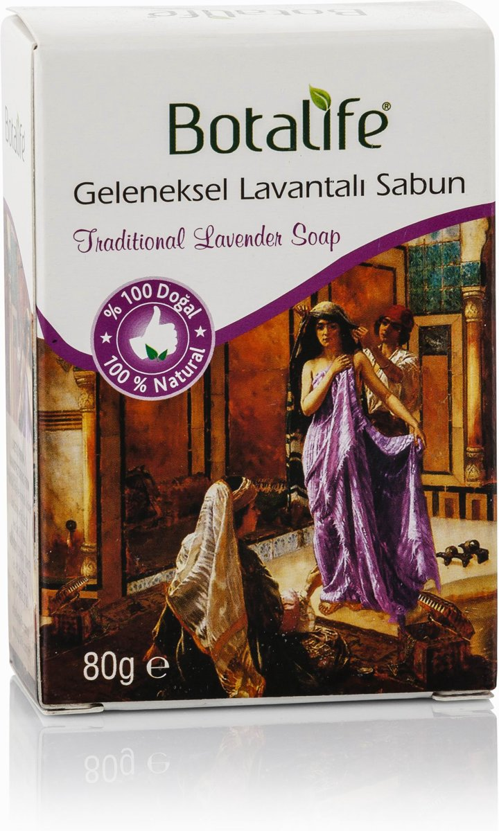 Foto van Botalife - Traditional Lavender Soap -