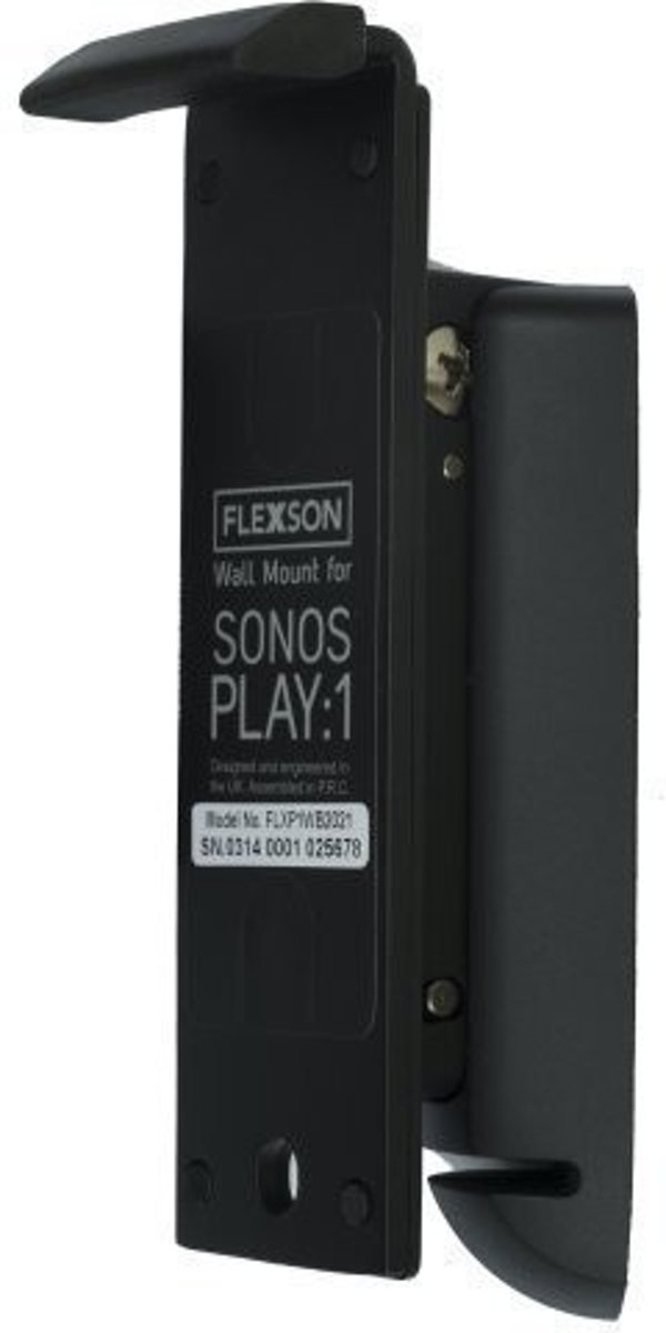 Flexson Play 1 Muurbeugel Zwart kopen