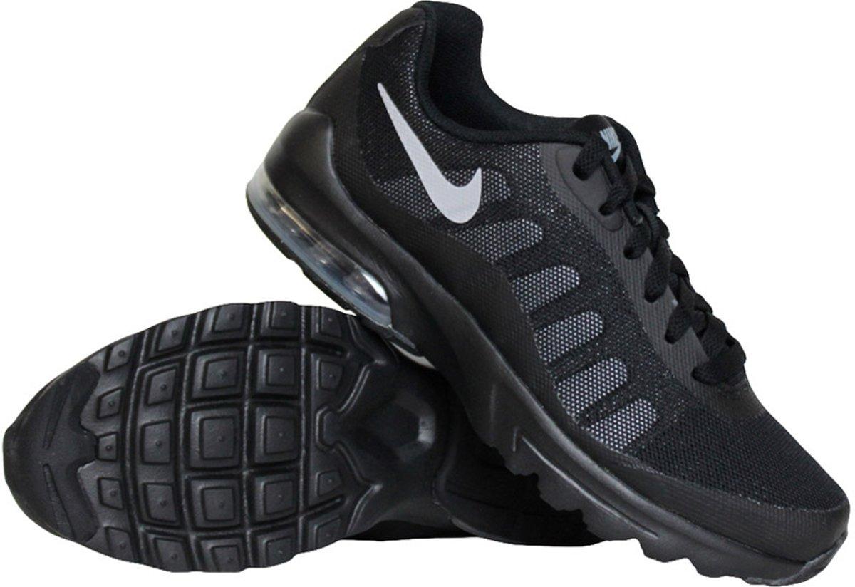 Nike Air Max Invigor (GS) sneakers jongens zwartgrijs