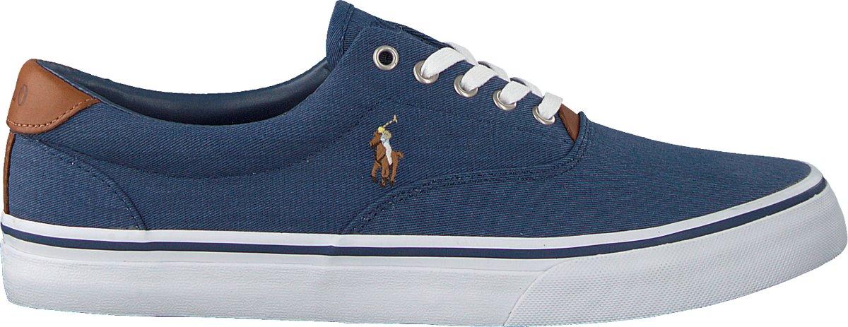 c70105d5333 bol.com | Polo Ralph Lauren Heren Sneakers Thorton - Blauw - Maat 45