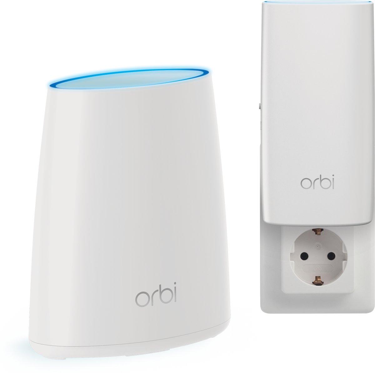 Netgear Orbi RBK30 - Multiroom Wifi Systeem / Router + wall-plug satelliet kopen