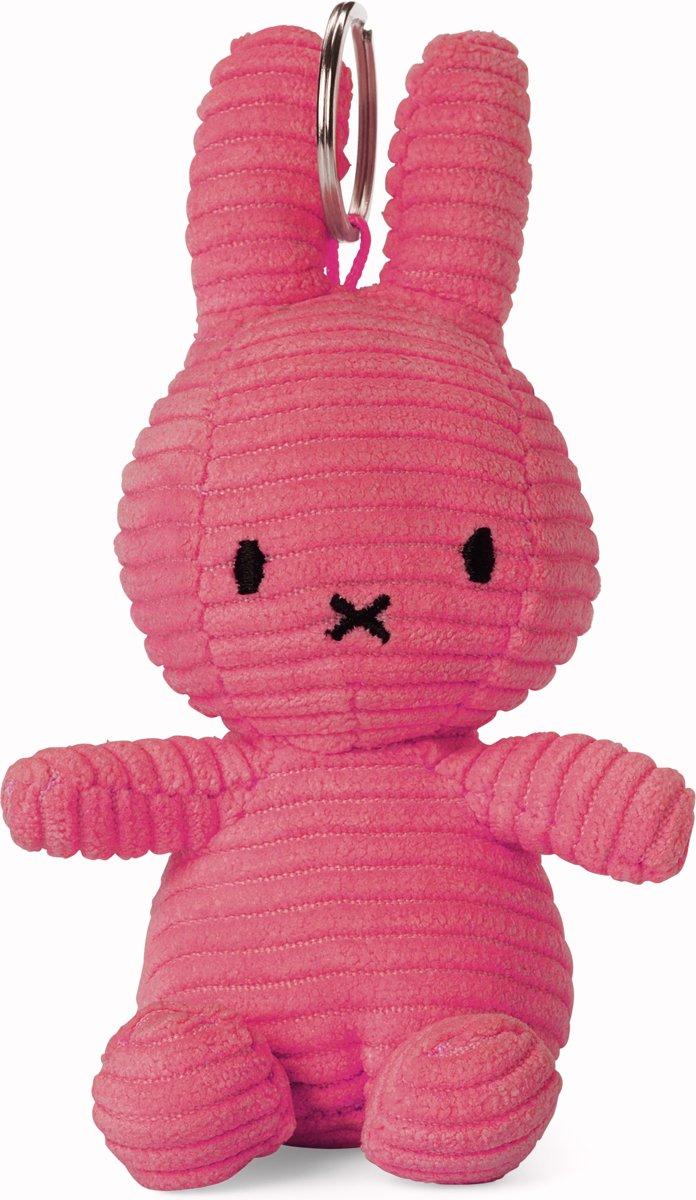 Nijntje Corduroy Sleutelhanger Bubblegum Pink - 10 cm - 4