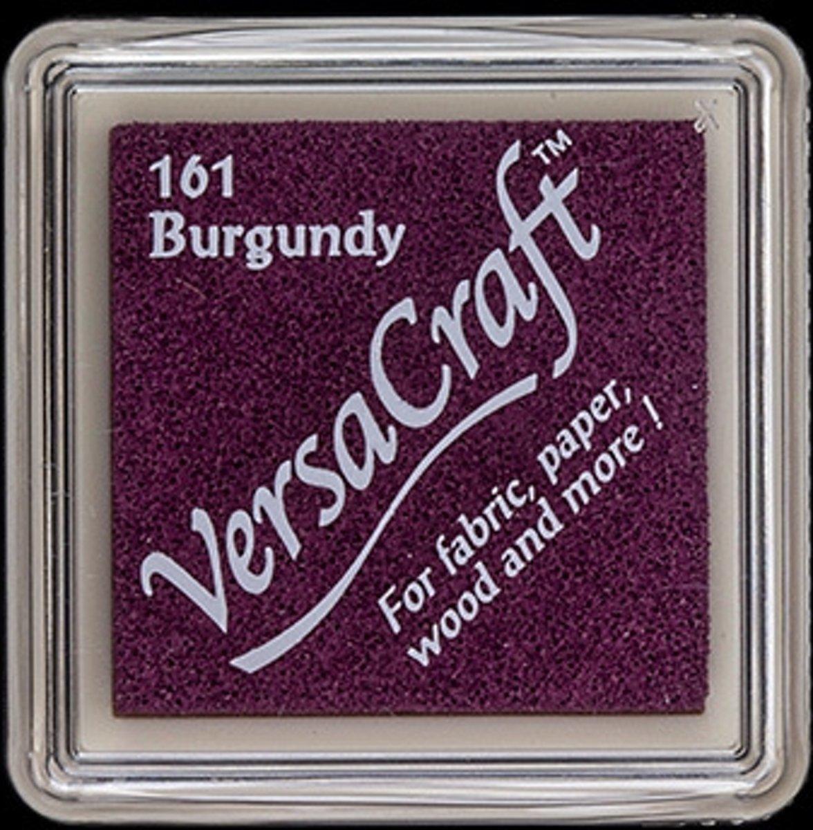 Versacraft Stempelkussen Klein Burgundy
