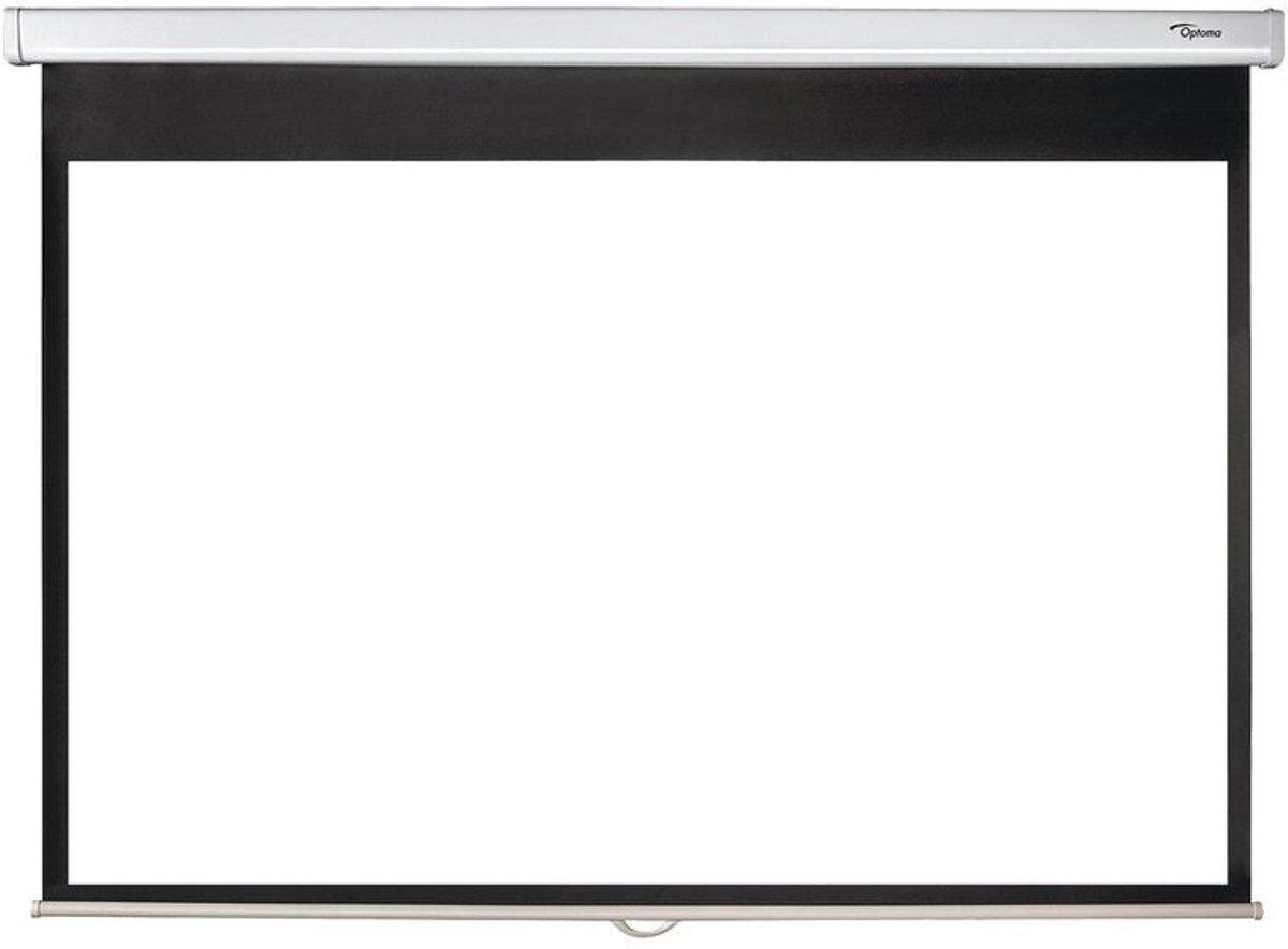 Optoma DS-1095PMG+ handmatig bediend projectiescherm 16:10 95 inch diagonaal kopen