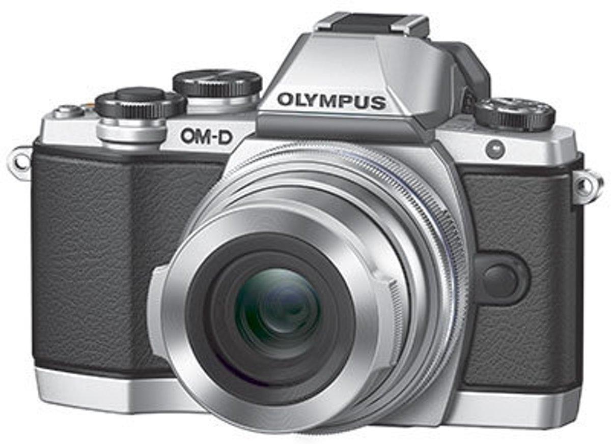 OLYMPUS OM-D E-M10 Mark II Zilver + 14-150mm kopen