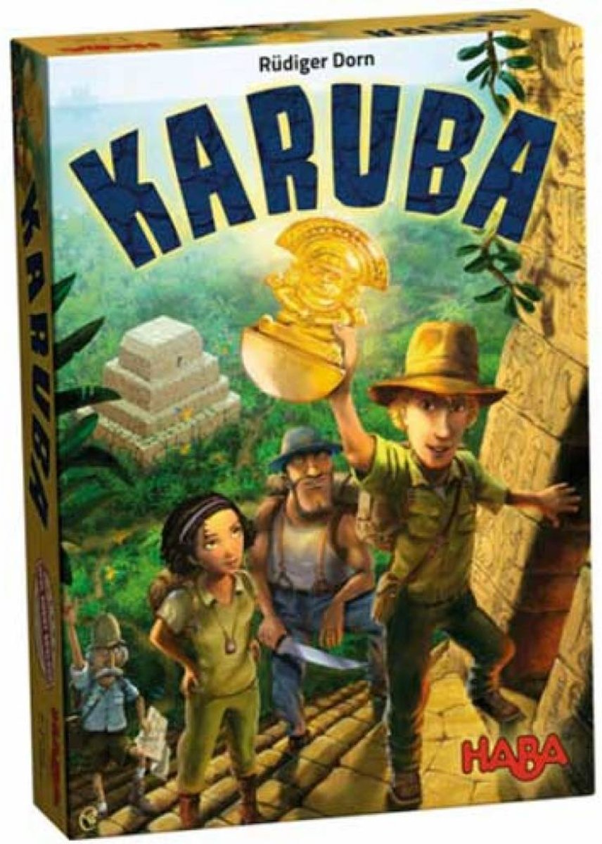 Haba Spel Spelletjes vanaf 8 jaar Karuba