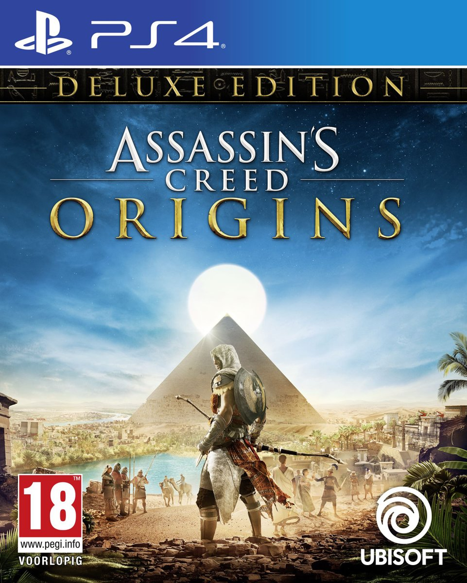 Assassin's Creed: Origins - Deluxe Edition PlayStation 4