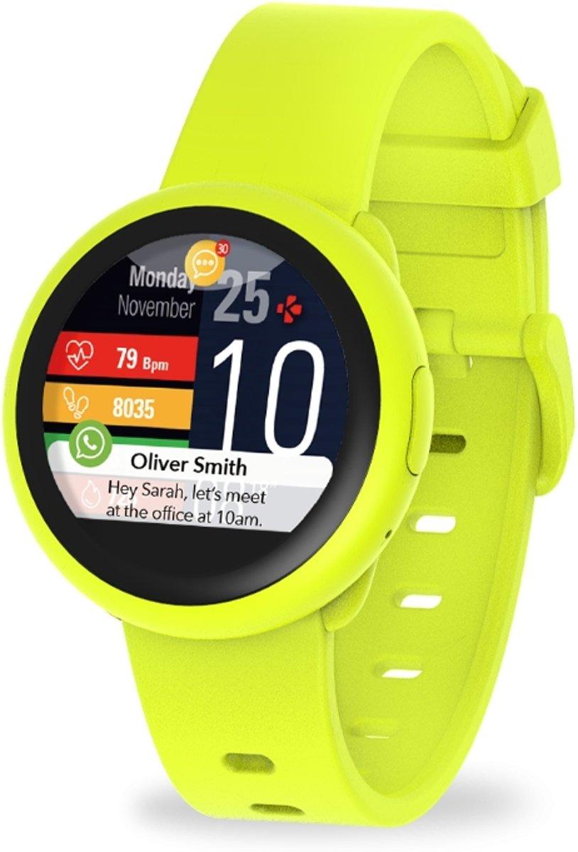 MyKronoz smartwatch ZeRound3 lite - geel/geel kopen
