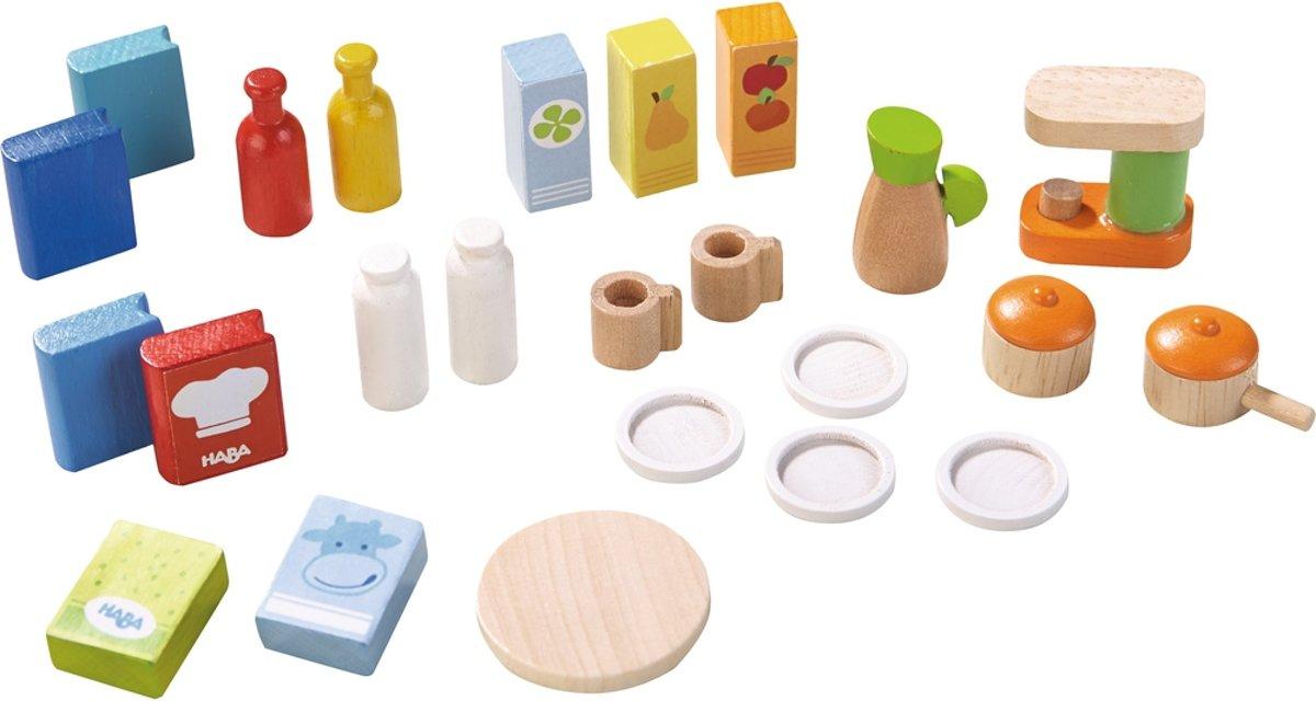 HABA Little Friends - Accessoires voor poppenhuis Keuken