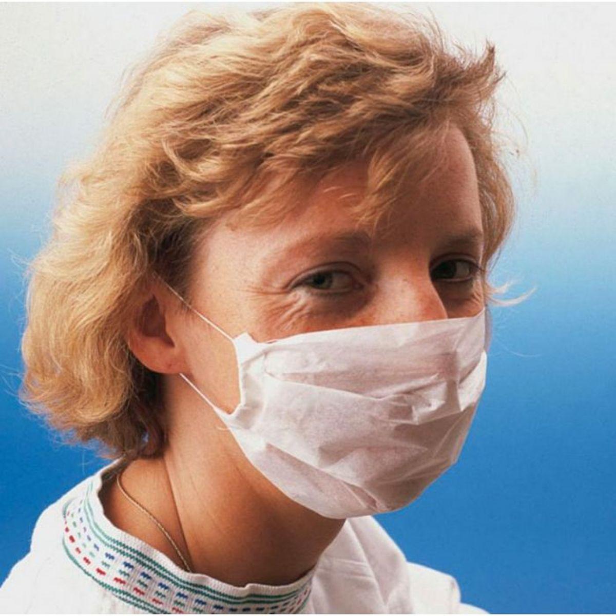 Medische mondkapjes WIT, 10 stuks - comforties