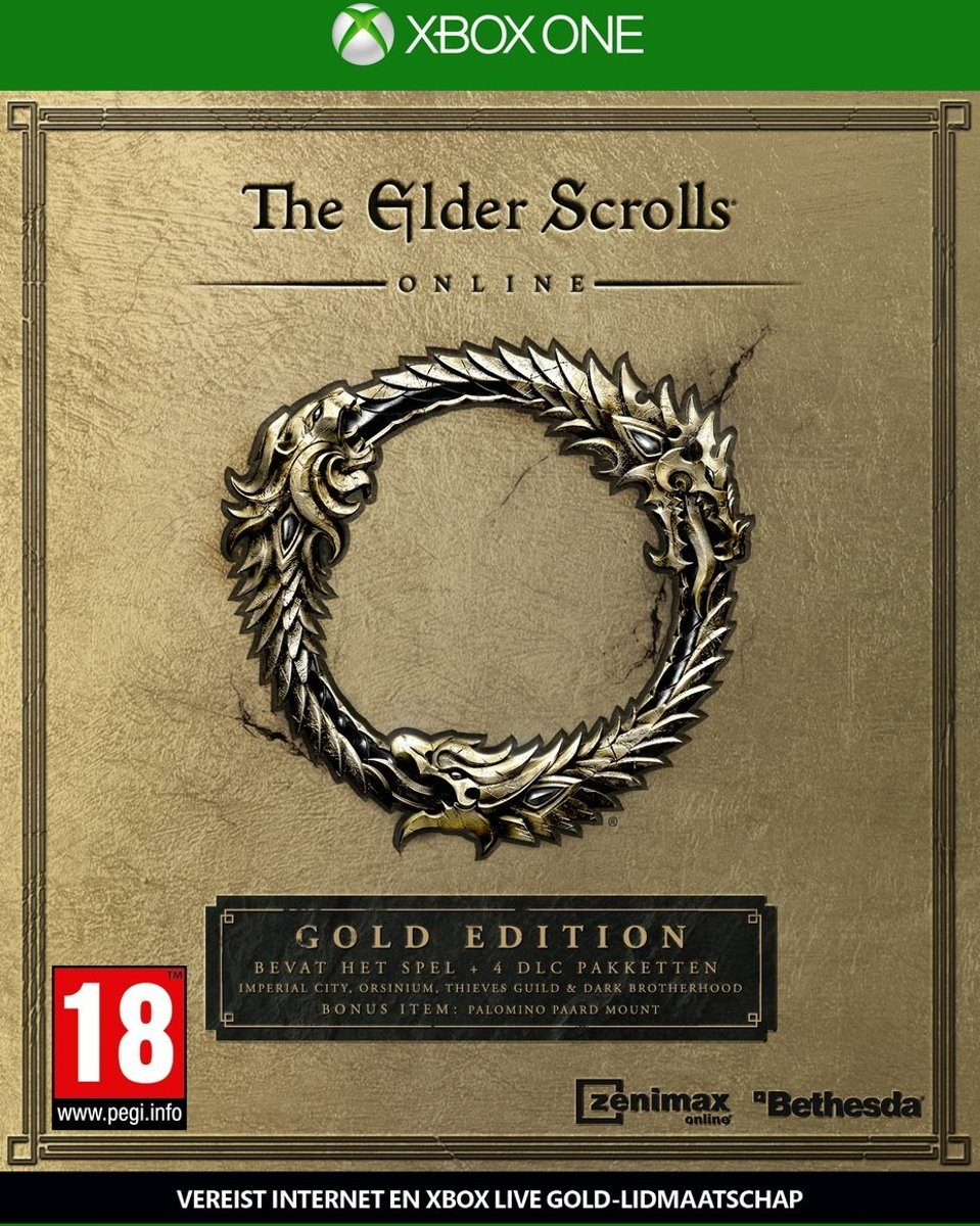 The Elder Scrolls Online Tamriel Unlimited - Gold Edition Xbox One