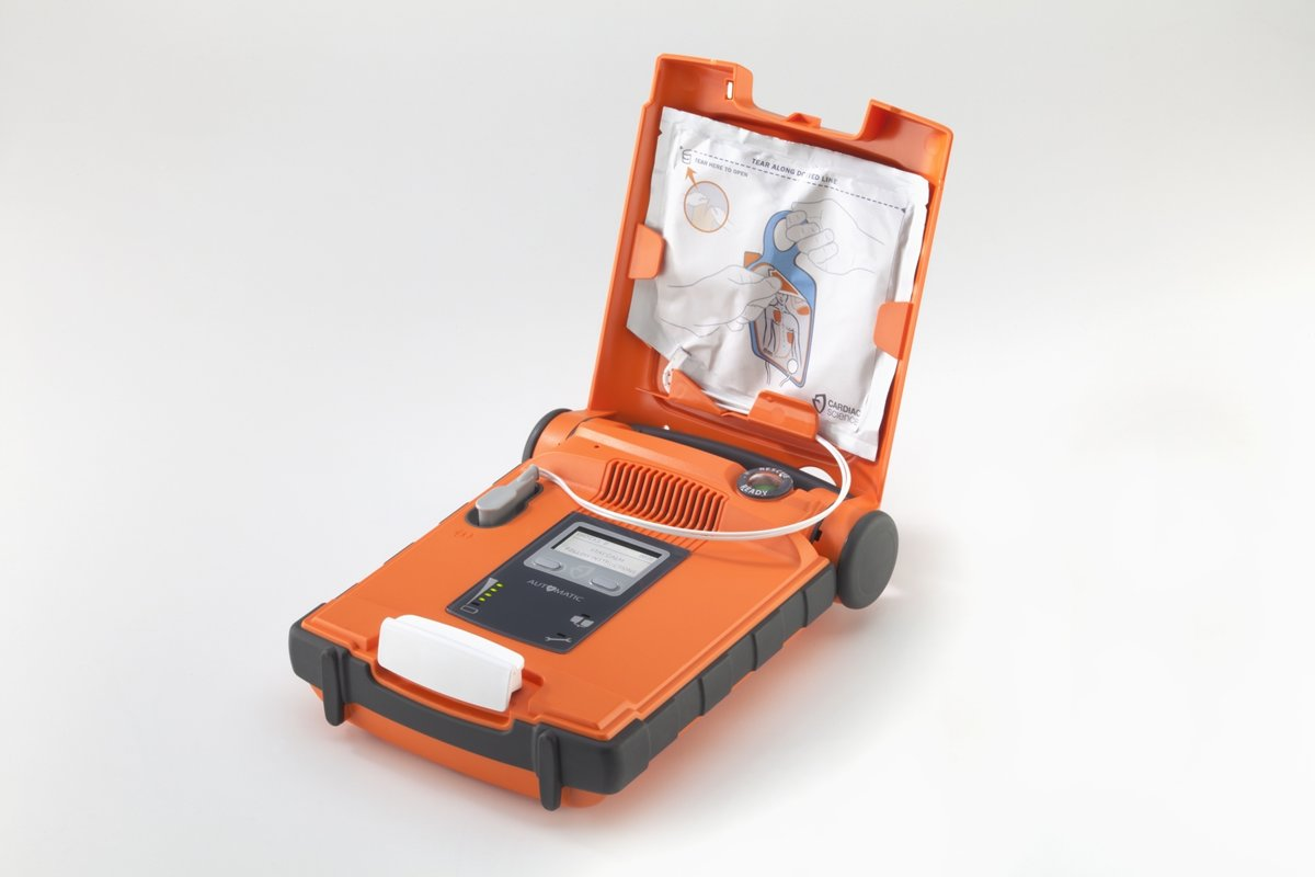 Foto van Cardiac Science G5 volautomaat AED Nederlands Engels G5A-15C
