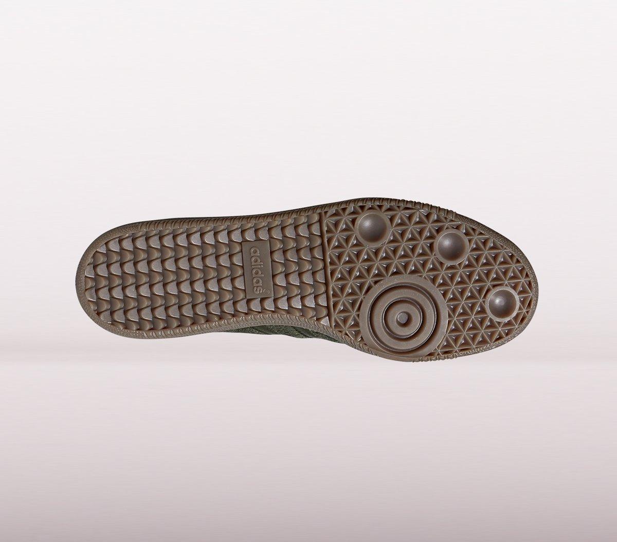   Adidas Samba Og Ft Sneakers Heren Donkergroen