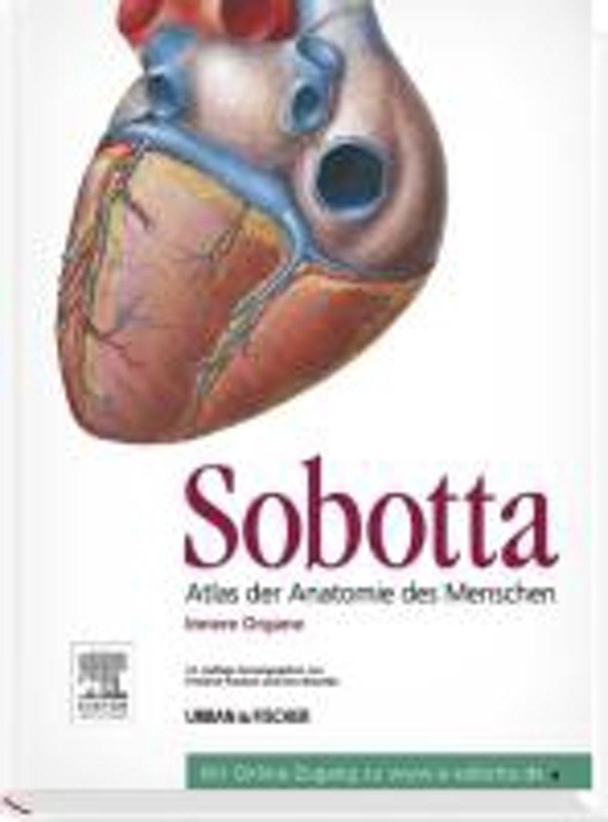 bol.com | Sobotta Atlas der Anatomie des Menschen | 9783437440724 ...