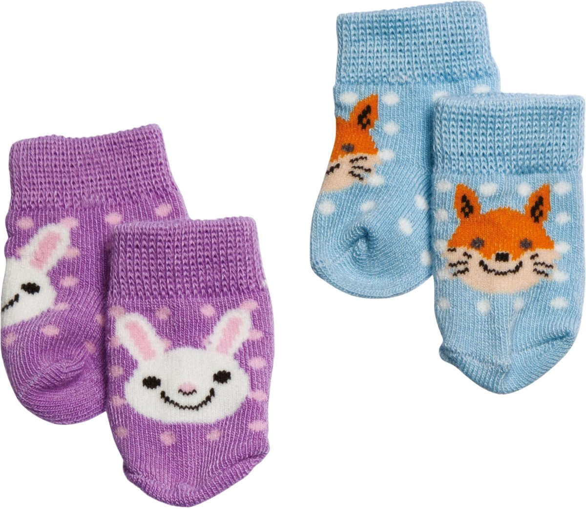 Socks 2pr Pack (Rabitt+ Fox)